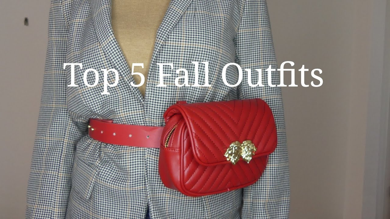 [VIDEO] - Top 5 fall outfits 7