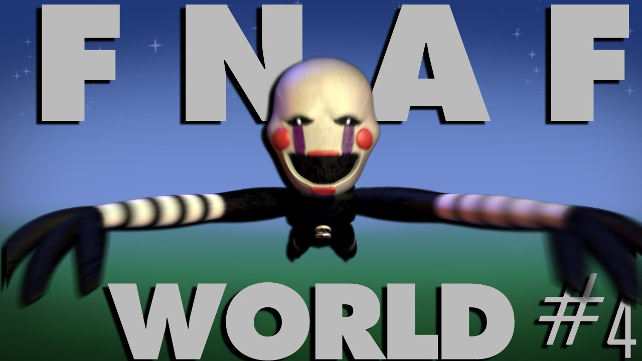 Blacktomb Yard Fnaf World 4 Youtube
