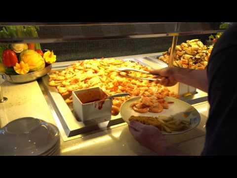 Disney Cruise Cabanas Lunch Buffet, February 2016