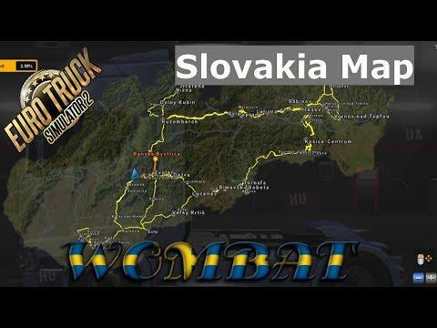 ETS2 1.31 - Slovakia Map aka SVK Map by Kapo944