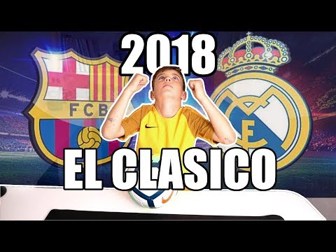 EL CLASICO FC BARCELONA VS REAL MADRID 2018   ADRENALYN XL