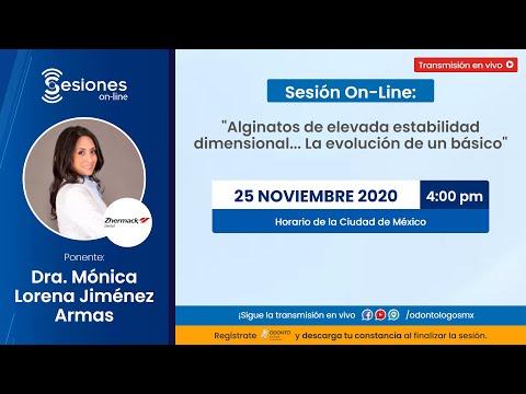 "Sesión On-Line: ""Alginatos"
