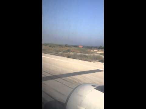Взлет с острова Родос