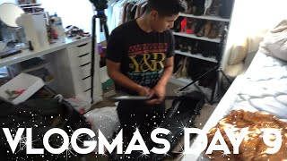 2015 VLOGMAS DAY 9 | BACK IN OUR HOME & MORE BEHIND THE SCENES!
