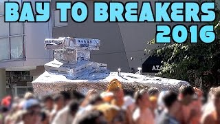 Bay To Breakers 2016 San Francisco excerpts (compilation)