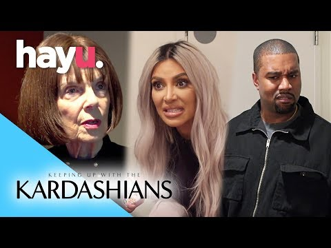 Grandma Kicked Off Kardashian Family Feud Team! | Season 15 | Keeping Up With The Kardashians