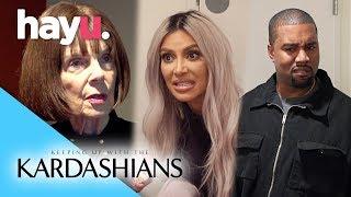 Grandma Kicked Off Kardashian Family Feud Team!   Season 15   Keeping Up With The Kardashians