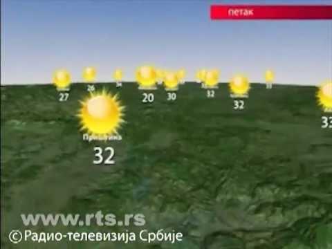 Prognoza Vremena Za 2. Avgust 2013.
