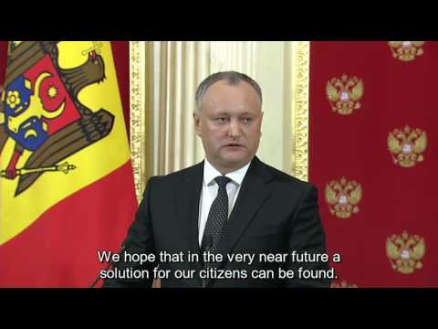Putin has hacked Moldovan president Igor Dodon! He wants to improve relationship with Russia