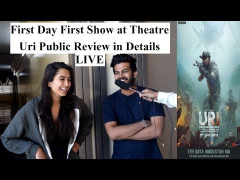 Uri Public Review First Day First Show | Uri The Surgical Strike Movie Review | Vicky Kaushal #Uri