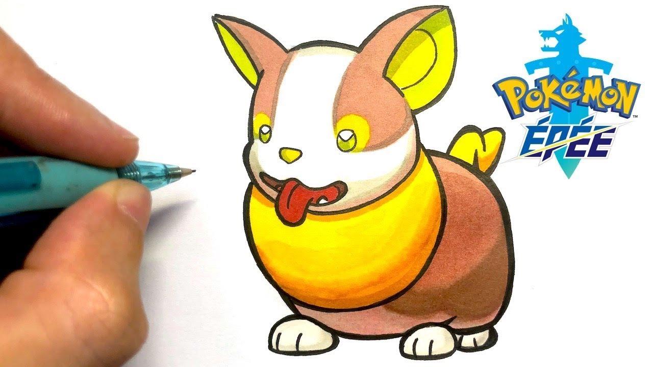 Comment Dessiner Yamper Pokemon Epee Et Bouclier
