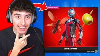 BOUTIQUE FORTNITE du 7 Mars 2021 ! SKIN ANT-MAN ! Code : PowerJumper