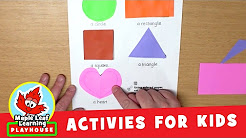 Shapes Activity for Kids | Maple Leaf Learning Playhouse