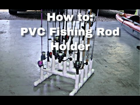 How To Make A PVC Fishing Rod Holder