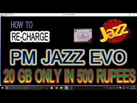 How to recharge PM Jazz Evo
