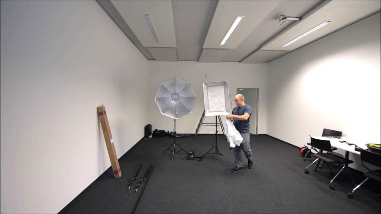 Mobiles Fotostudio Aufbau In 20 Minuten
