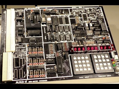 Vintage 1980 single board computer E&L MMD-2 (PWJ78)