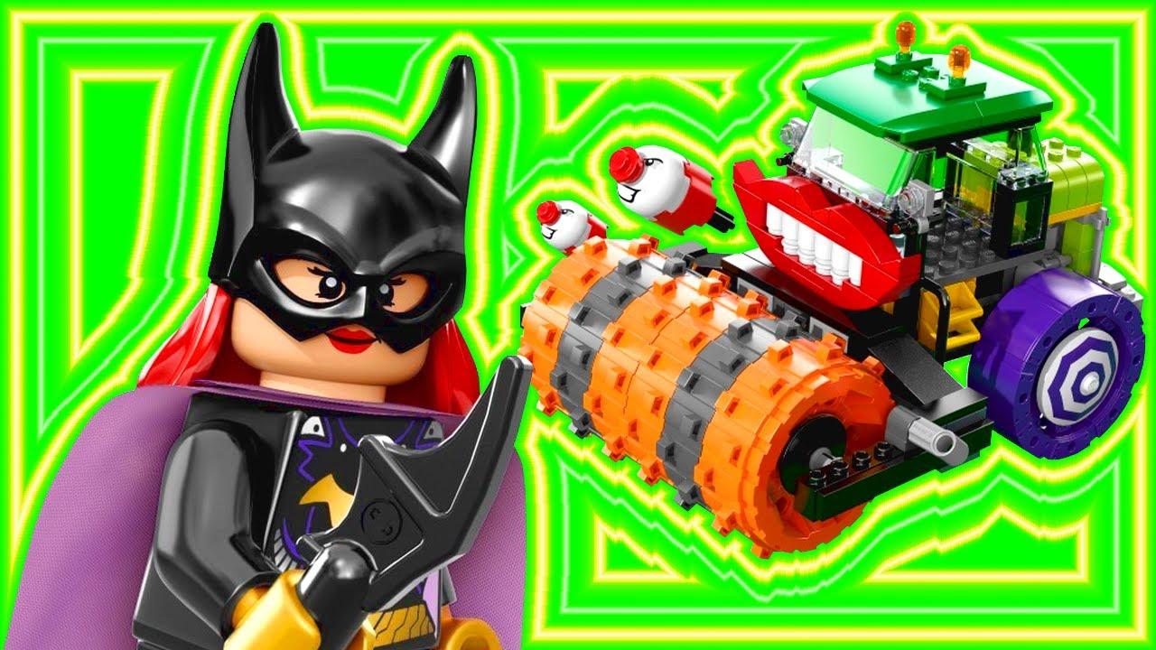 lego batman joker steam roller 76013 dc super heroes build. Black Bedroom Furniture Sets. Home Design Ideas