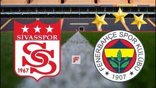 SivasSpor 2-1 Fenerbahçe Cumhuriyet Kupası Maçı
