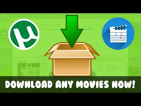 how to download any latest movie using utorrent youtube