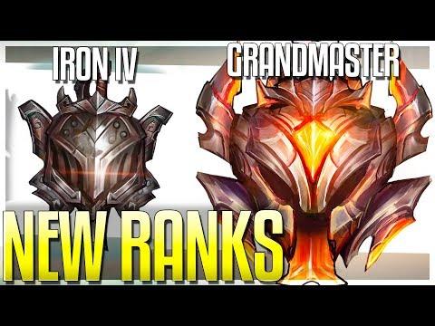 NEW RANKS!! IRON & GRANDMASTER TIER! BRONZE 5 DELETED!? Season 9 Rank Update - League of Legends thumbnail