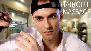 ASMR HAIRCUT & MASSAGE ROLEPLAY | ASMRTIST Haircut and Relaxation Session
