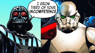 The Stormtrooper that Flipped Off Darth Vader(Canon) - Star Wars Comics Explained