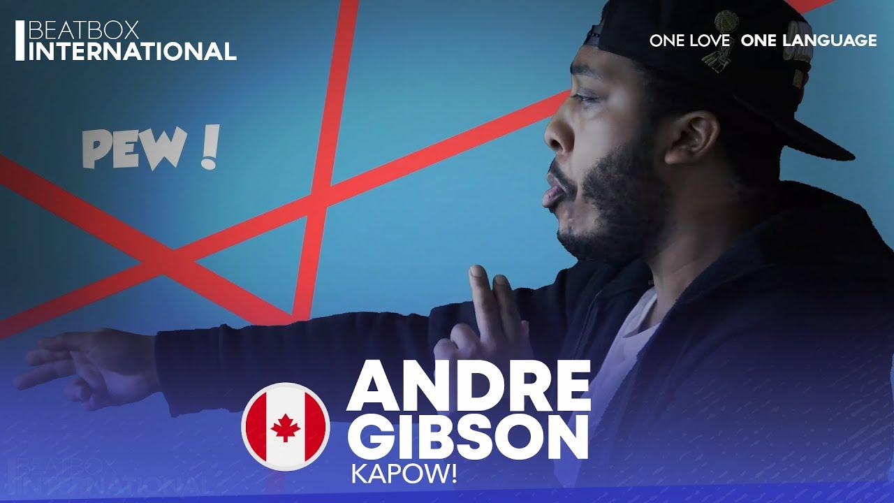 ANDRE GIBSON 🇨🇦 | KAPOW!