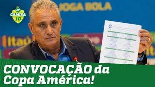 Veja a CONVOCAÇÃO de Tite para a Copa América!