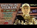 Learn English - Live Lesson 5th May 2019 / Car types / Uses of 'WORD' / Ass or Arse? / Misterduncan