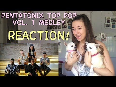 PENTATONIX TOP POP, VOL 1 MEDLEY REACTION! | Kayla Rose