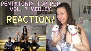 PENTATONIX TOP POP, VOL 1 MEDLEY REACTION! | Kayla Rose