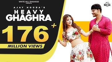 AJAY HOODA : Heavy Ghaghra (Full Video) Sandeep Surila, Kanchan   New Haryanvi Songs Haryanavi 2021