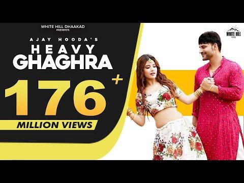 AJAY HOODA : Heavy Ghaghra (Full Video) Sandeep Surila, Kanchan | New Haryanvi Songs Haryanavi 2021