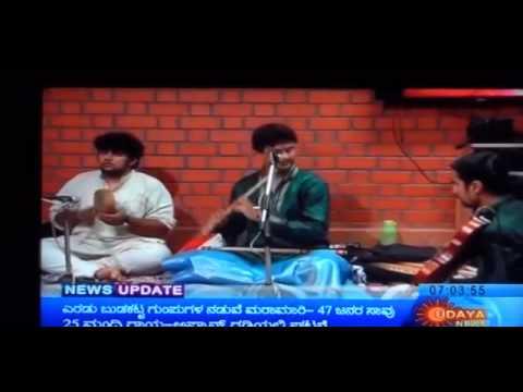Carnatic Flautist Tejasvi Raghunath TV Performance and Interview