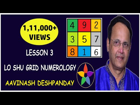 Lo Shu Grid Numerology – Lesson # 3