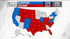 Trump Wins Florida, Clinton Wins Washington | 2016 Election Results