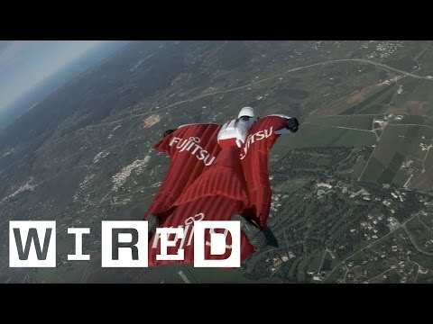 Fraser Corsan Attempts to Break Four Wingsuit World Records   WIRED UK