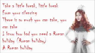 Nicki Minaj - Roman Holiday (Studio Version) Lyrics Video