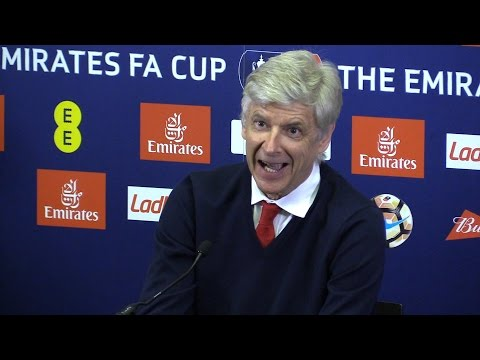 Arsenal 2-1 Manchester City - Arsene Wenger Full Post Match Press Conference
