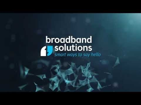 Smart Ways To Say Hello - Broadband Solutions