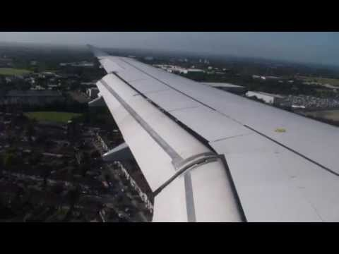 Germanwings Crashed Airbus A320 [D-AIPX] Landing At London Heathrow
