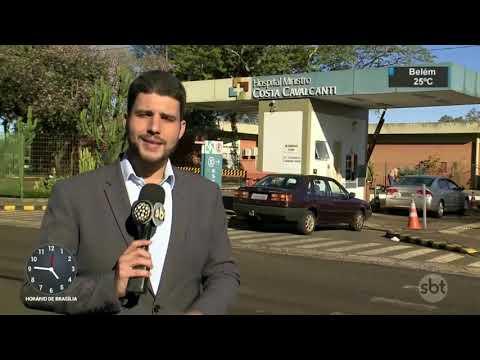 Guarda municipal ajuda a salvar bebê em Foz do Iguaçu | SBT Notícias (23/08/17)