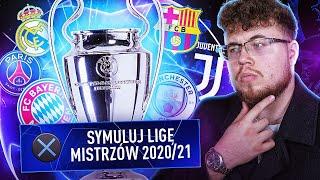 PRZESYMULOWAŁEM CAŁĄ LIGĘ MISTRZÓW 2020/21!!! 🏆 Kto wygra?
