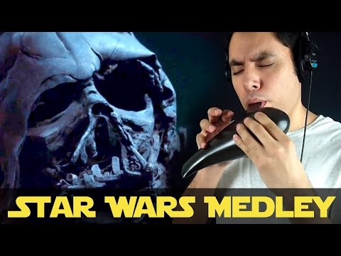 Star Wars Medley On Ocarina || Music Song Cover By David Erick Ramos