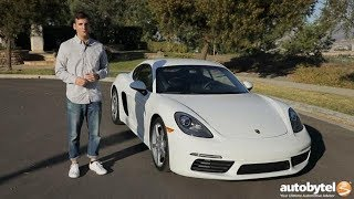 2018 Porsche 718 Cayman Test Drive Video Review