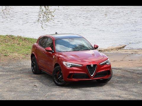 2019 Alfa Romeo Stelvio Quadrifoglio Test Drive Review: A Ferrari SUV In Disguise