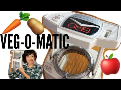1960s VEG-O-MATIC Food