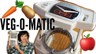1960s VEG-O-MATIC Food Chopper & Recipe TEST| Vintage Does It Work?