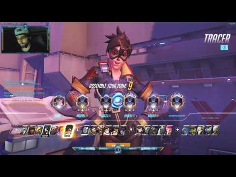 Overwatch SoOn Showing His Insane Tracer Mechanics